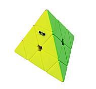 cheap -Rubik's Cube QI YI QIMING 174 Pyramid Smooth Speed Cube Magic Cube Puzzle Cube Stickerless Triangle Birthday Children's Day Gift Unisex