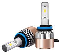 2pcs h8 h9 h11 7200lm csp led del faro h11 farol led para carro com chip de qualidade de produtos csp 36w power