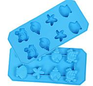1 шт. выпечке Mold Мультфильм образный конфеты Для получения льда Для шоколада силиконовый Новый год День Святого Валентина
