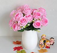 Недорогие -Искусственные Цветы 1 Филиал Простой стиль Розы Букеты на стол