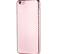 cheap -Case for Apple iPhone 7 7Plus  Solid Color Soft TPU  Back Case for iPhone 6s Plus e 6 Plus  6s  6