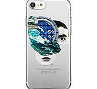 Для iphone 7 плюс 7 чехол для крышки экологически чистый прозрачный шаблон для задней обложки сексуальная леди soft tpu для iphone 6s плюс
