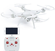 cheap -RC Drone ZSR/C ZSRC Z1W 4 Channel 6 Axis 2.4G With HD Camera 0.3MP 30 RC Quadcopter LED Lights One Key To Auto-Return Failsafe Headless