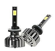 cheap -KKmoon Pair of 880 DC 12V 40W 4000LM 6000K LED Headlight Lamp Kit Light Bulbs