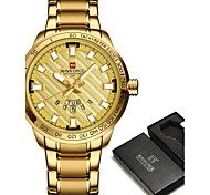 NAVIFORCE Men's Sport Watch Military Watch Dress Watch Fashion Watch Bracelet Watch Casual Watch Wrist watch Japanese Quartz Japanese