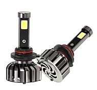 KKmoon Pair of 9005 HB3 DC 12V 40W 4000LM 6000K LED Headlight Lamp Kit Light Bulbs