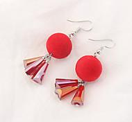 cheap -Women's Tassel Drop Earrings - Tassel Euramerican Fashion Ball For Party Daily