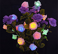 5M 20 LED Battery Operated String Flower Rose Fairy Light  Christmas Decor (warm white/White/Pink/Yellow/Multi Color/Green/Red/Purple/Blue)