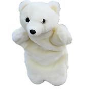 Недорогие -Пальцевая кукла Новогодние подарки Марионетки Игрушки Медведи Полярный медведь Милый стиль Животные Милый Плюшевая ткань Плюш Для детей