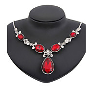 May polly Hot water shape zircon fashion party Necklace Earrings Set
