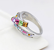 Women's Ring Jewelry Fashion Euramerican Costume Jewelry Rhinestone Alloy Jewelry Jewelry For Birthday Event/Party Other
