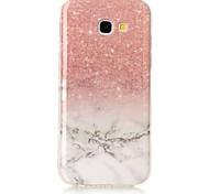 Для samsung galaxy a3 a5 (2017) корпус крышка мраморная модель высокой четкости tpu материал imd технология мягкая упаковка мобильный