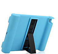 For Apple iPad Air 2 Case Cover Shockproof with Stand Full Body Case Solid Color Soft Silicone