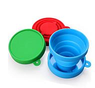 Недорогие -Чашки для путешествий / чашка Складной Посуда в дорогу для Складной Посуда в дорогу Красный Зеленый Синий