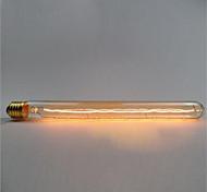 Ac220 -240 t26-300 e27 60w эдисон ретро флейта пробирка ретро декоративная лампа v1pcs
