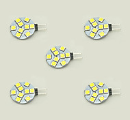 abordables -5pcs 1.5W 148lm G4 Luces LED de Doble Pin T 9 Cuentas LED SMD 5050 Blanco Cálido Blanco 12V