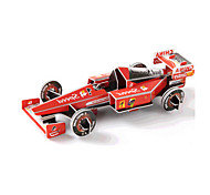 cheap -3D Puzzles Jigsaw Puzzle Race Car Toys Car 3D DIY High Quality Paper Not Specified Unisex Pieces