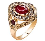 Women's Statement Rings Ring Crystal Basic Unique Design Rhinestone Rhinestones Costume Jewelry Fashion Vintage Bohemian Personalized