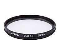 Andoer 58mm Filter Set UV  CPL  Star 8-Point Filter Kit with Case for Canon Nikon Sony DSLR Camera Lens