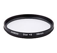Andoer 58mm filter set uv cpl star 8-точечный набор фильтров с футляром для камеры canon nikon sony dslr