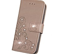 Case for Nokia 6 Lumia 930 Wallet Rhinestone Embossed Pattern Case for Nokia Lumia 925 640 630 535 532 530
