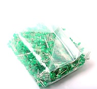 cheap -LED Light-Emitting Diode 3MM Green Light (1000Pcs)