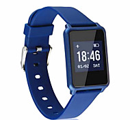 Smart Bracelet Water Proof Long Standby Calories Burned Pedometers Sports Heart Rate Monitor Touch Screen for Ios & Android Mobile Phone