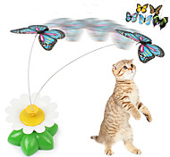 cheap -Cat Teasers Butterfly Plastic For Cat Kitten