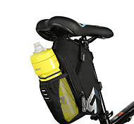 ROSWHEEL Bicycle Saddle Bag With Water Bottle Pocket Waterproof MTB Bike Rear Bags Cycling Rear Seat Tail Bag Bike Accessories