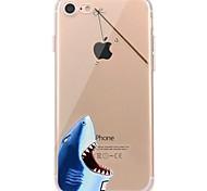 Чехол для iphone 7 6, играющий с яблоком logo tpu animal soft ультратонкая задняя крышка чехол iphone 7 плюс 6 6s плюс se 5s 5 5c 4s 4