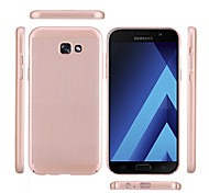 Case for Samsung Galaxy A3(2017) A5(2017) Frosted Back Cover Solid Color Hard PC A7(2017) A7(2016) A5(2016) A3(2016)