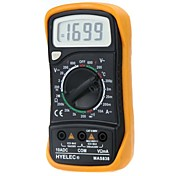 cheap -HYELEC MAS838  Professional Digital LCD Display Multifunction Mini Multimeter/Temperature Test Multimetro LCR Meter