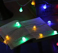 cheap -10M Led String Lights With 100Led Ball Ac220V Holiday Decoration Lamp Festival Lights Outdoor Lighting