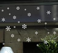 Недорогие -Ар-деко Стикер на окна,ПВХ/винил материал окно Украшение