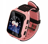 HHY M05 GPS Positioning Real-time Tracking Positioning Call For Help Flashlight Intelligent Children's Watch
