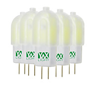 abordables -3W G4 Luces LED de Doble Pin T 30 leds SMD 2835 Decorativa Blanco Cálido Blanco Fresco Blanco Natural 200-300lm