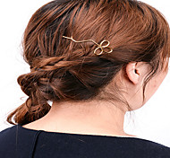 Europe and the United States foreign trade act the role ofing is tasted Contracted joker copper hair by hand Hollow out clover hairpin hair A0254