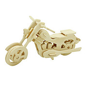 cheap -3D Puzzles Jigsaw Puzzle Wood Model Dinosaur Plane / Aircraft Moto 3D DIY Wooden Wood Classic Motorcycle Unisex Gift