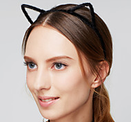 cheap -Women's Acrylic Fabric Headband - Cat Ears Fur