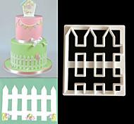 Недорогие -Формы для нарезки печенья Цветы Для Cookie Печенье Торты ABS Своими руками Антипригарное покрытие Высокое качество