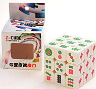 baratos -Rubik's Cube z-cube Luminoso Glow Cube 3*3*3 Cubo Macio de Velocidade Cubos mágicos Antiestresse Cubo Mágico Brilha no Escuro Manual do