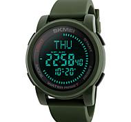 SKMEI Men's Sport Watch Military Watch Fashion Watch Digital Watch Wrist watch Unique Creative Watch Casual Watch Japanese Digital LED