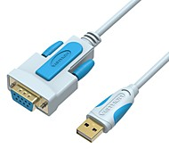 RS232 Adapter Cable, RS232 to USB 2.0 Adapter Cable Male - Female 1.0m(3Ft)