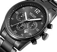 MEGIR Men's Fashion Casual Unique Luxury Stainless Steel Calendar Quartz Watches Clock Relogio Masculino Hodinky Hour Handmade Watch