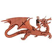 DIY KIT 3D Puzzles Jigsaw Puzzle Toys Tank Aircraft Animal 3D Unisex Pieces