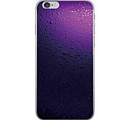 Недорогие -Случай для яблока iphone 7 7 плюс крышка капли воды картина капель hd покрасила более толстый материал tpu мягкий случай случай телефона