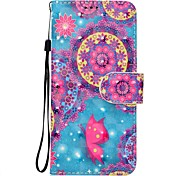 cheap -Case For Sony Xperia XZ XA1 Butterfly Pattern 3D PU Wallet Leather Card Holder with Hand Strap for Sony Xperia XA Ultra E5 XA