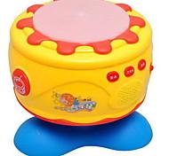 Игрушечные инструменты Игрушки Круглый Барабанная установка Игрушки Пластик Куски Дети Подарок