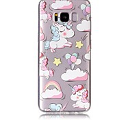 Case For Samsung Galaxy S8 Plus S8 Phone Case TPU Material Unicorn Pattern Painted Phone Case S7 Edge S7 S6 Edge S6