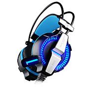 Недорогие -KOTION EACH G7000 Головная повязка Проводное Наушники динамический пластик Игры наушник С регулятором громкости С микрофоном наушники